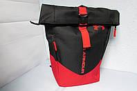 Рюкзак Under Armour (701) черный с красным код 0485А