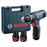 Аккумуляторная дрель-шуруповёрт Bosch GSB 1080-2-LI