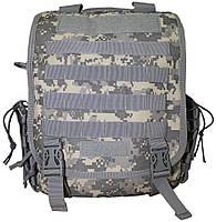 """Тактический рюкзак-сумка для ноутбука 15"""" ML-Tactic Military Laptop Backpack ACU, B105 (Камуфляж)"""