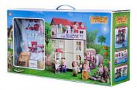 Дом зайчиков-молодоженов Happy family с мебелью 012-10(аналог Sylvanian families)