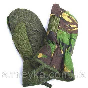 Трехпалые рукавицы Британской армии, ДПМ, оригинал