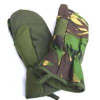 Трехпалые рукавицы Британской армии, ДПМ, оригинал, фото 1