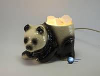 Соляная лампа Панда малая (Керамика) 1,5кг