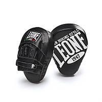 Лапы боксерские кожаные URVED Leone черный