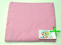 Фланелевые (байковые) пеленки (розовая)