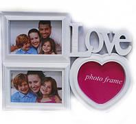 Коллаж 3 фотографий love