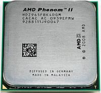 AMD Phenom II X4 965 3.4GHz/6Mb AM2+/AM3/AM3+