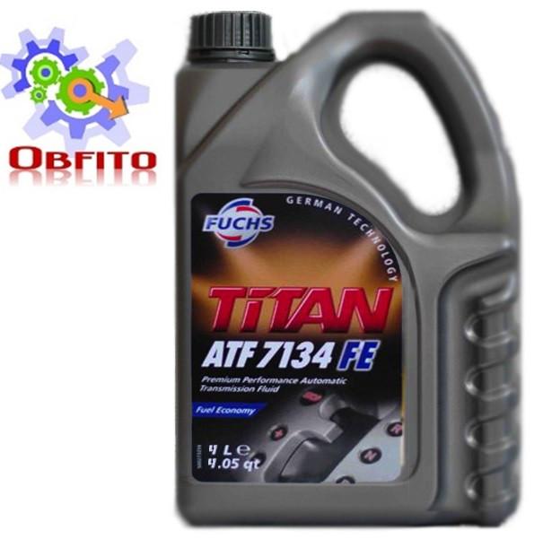 Fuchs TITAN ATF 7134 FE, 4л масло трансмиссионное синтетическое