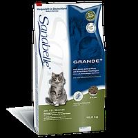 Sanabelle (Санабель) GRANDE 0.4кг - корм из мяса птицы, лосося и мяса мидий для кошек и котов крупных пород