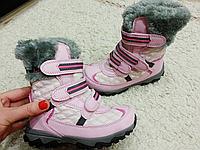 Детские термоботинки для девочек Camo Размер 27 по стельке 18см