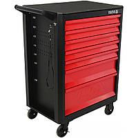 Шкаф сервисный Yato для инструментов на 7 шухляд YT-09000