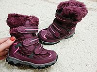 Зимняя детская обувь для девочек Camo Размер 30 по стельке 20см