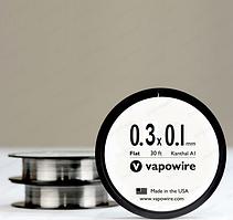 Плоский кантал 0,1 х 0,3 мм