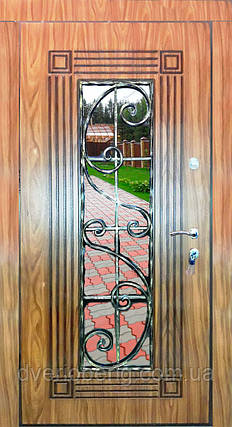 Входная дверь модель П5-347 vinorit-77 +ПАТИНА, фото 2