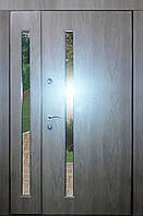 Входная дверь модель 1200 Т-1-3 272 vinorit-90 СТЕКЛА