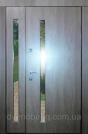 Входная дверь модель 1200 Т-1-3 272 vinorit-90 СТЕКЛА, фото 2