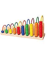 """Развивающие и обучающие игрушки «Viga Toys» (50022) набор """"Учимся считать"""""""
