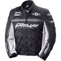Мотокуртка текстильная Fastway Racing Black/Grey Sz.M