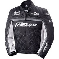Мотокуртка текстильная Fastway Racing Black/Grey Sz.XXXL