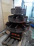 Кондитерські стелажі ДСП б/у, стелаж кондитерський круглий бо, ДСП стелажі., фото 4