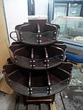 Кондитерські стелажі ДСП б/у, стелаж кондитерський круглий бо, ДСП стелажі., фото 2