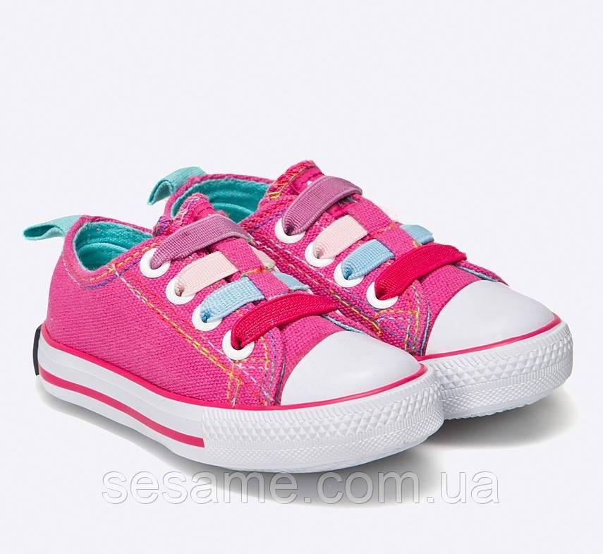 Детские кеды розовые Amerikan Club для девочки
