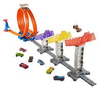 Трек Хот Вилс Суперскоростная трасса Hot Wheels Double Loop Attack