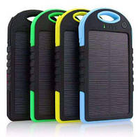 Портативное зарядное устройство Power Bank Solar Charger 10000 mAh,солнечная батарея