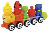 """Веселый поезд Патрик и друзья Ks Kids Popbo™ транспорт-конструктор Паровоз """"Патрик та друзі"""""""