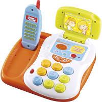 Интерактивная музыкальная игрушка Говорящий телефон MOMMY LOVE
