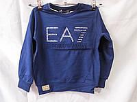 Свитшот детский оптом EA7 Armani, рост 110-128см, разные цвета, фото 1