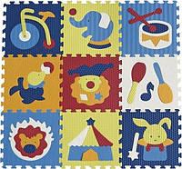 Детский коврик-пазл Baby Great Удивительный цирк