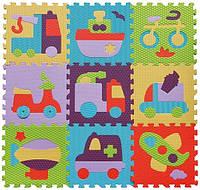 Детский коврик-пазл Baby Great Быстрый транспорт