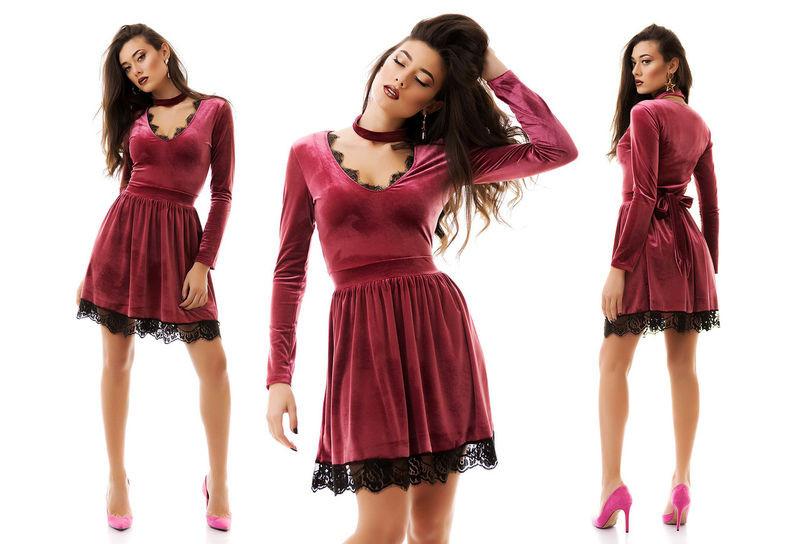 42b5b86d01f Стильное вечернее короткое женское платье