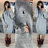 Платье Polo  серое.черное,бордо