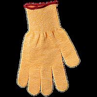 SG10-Y-L Перчатка с защитой от порезов, желтая (птица), размер L