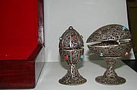 Ритуальные яйца,  серебро,   нач ХХ-го века