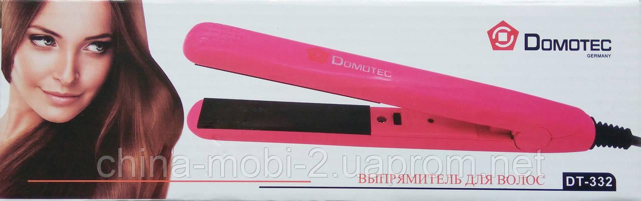 Утюжок-выпрямитель для волос Domotec DT-332