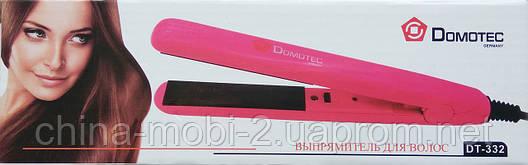 Утюжок-выпрямитель для волос Domotec DT-332, фото 2