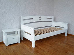 """Деревянный белый диван - кровать """"Луи Дюпон"""""""