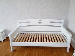 """Деревянный белый диван - кровать """"Луи Дюпон"""" 1"""