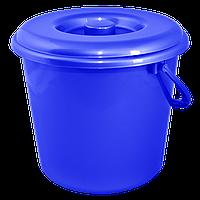 Ведро цветное 14л Синий