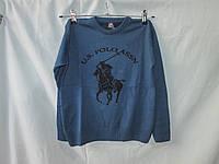 Свитер детский оптом Polo,  5-12 лет, темно-синий