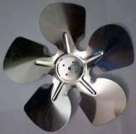Крыльчатка двигателя обдува промышленного холодильника в ассортименте, фото 2