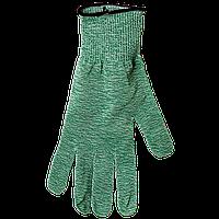 SG10-GN-L Перчатки с защитой от порезов, зеленые (овощи, зелень), размер L