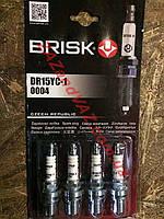 Свечи зажигания BRISK DR15YС-1 Ланос 1.6 16 кл