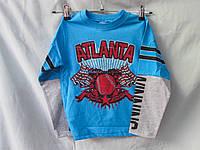 Батник детский оптом Атланта, рост 110-134см, разные цвета, фото 1