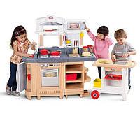 Детская кухня с грилем и тележкой Little Tikes 484230