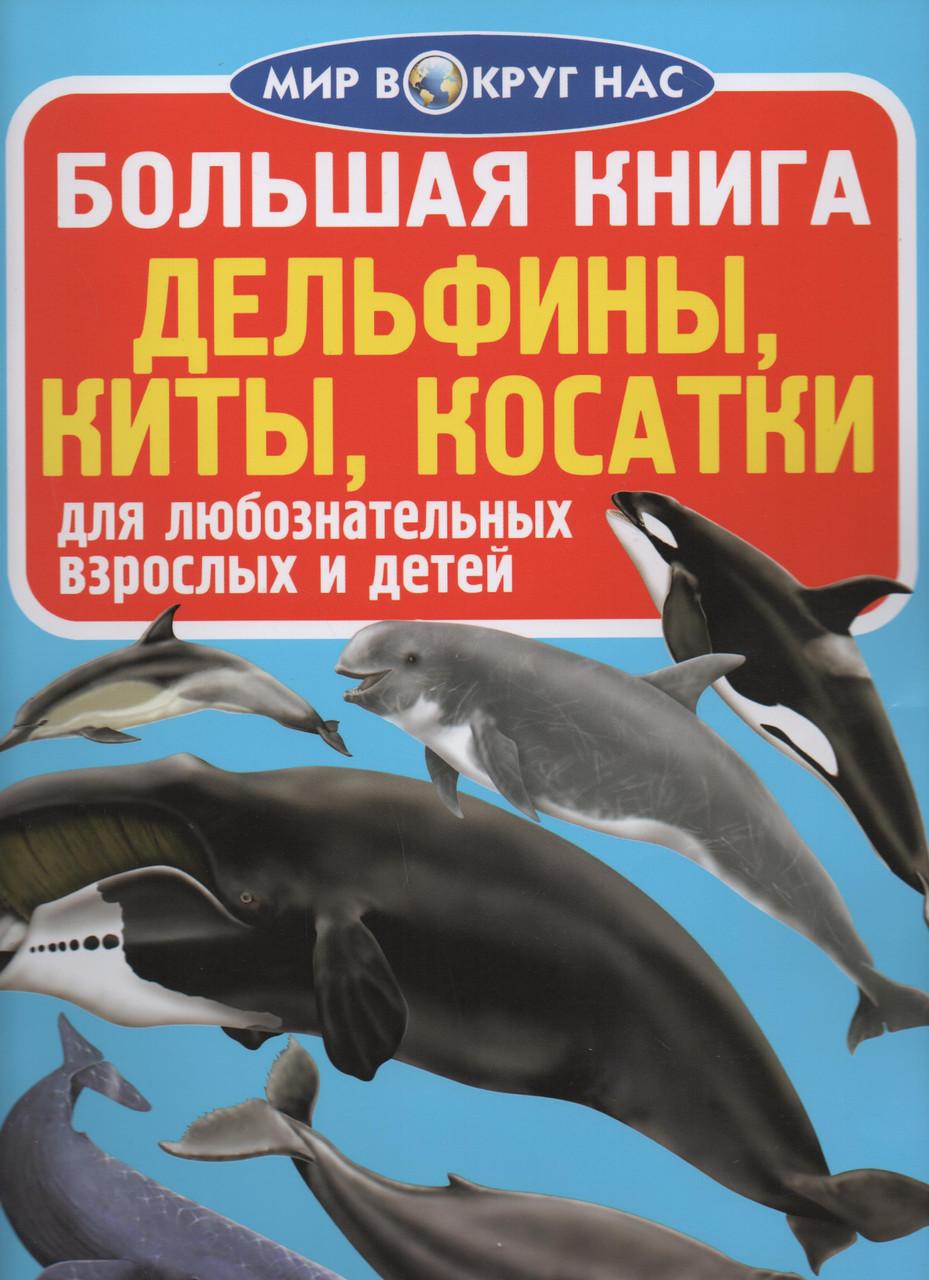 Большая книга. Дельфины, киты, касатки
