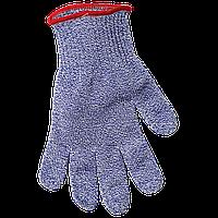SG10-BL-S Перчатка с защитой от порезов, синяя (рыба и морепродукты), размер S